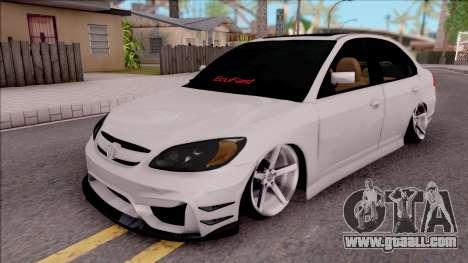 Honda Civic E.K MODS for GTA San Andreas