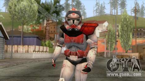 Star Wars JKA - Clone Shock Trooper Skin 2 for GTA San Andreas