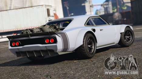 GTA 5 Dodge Charger Fast & Furious 8 left side view