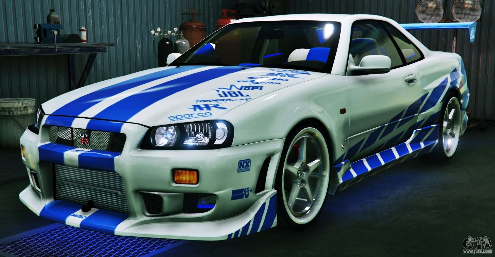 nissan skyline gt r34 3 0 for gta 5. Black Bedroom Furniture Sets. Home Design Ideas
