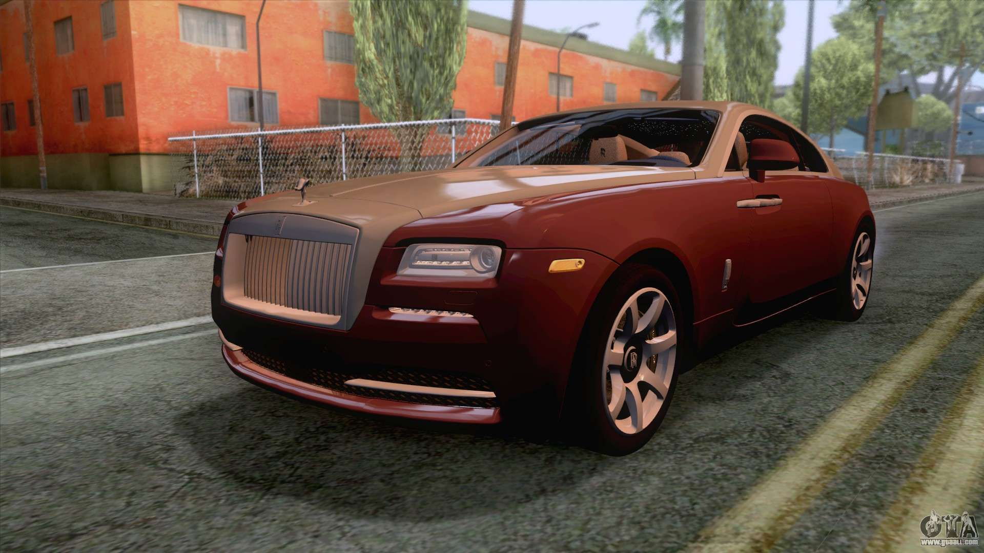 rollsroyce wraith 2014 coupe for gta san andreas