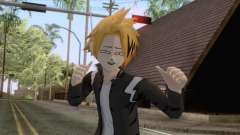 My Hero Academia - Denki Kaminari Suit Hero v2 for GTA San Andreas