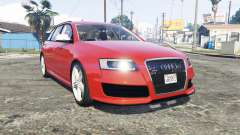Audi RS6 Avant (C6) [replace] for GTA 5