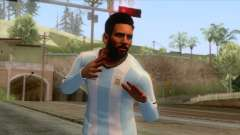 Messi Argentina Skin for GTA San Andreas