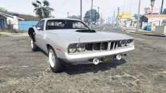 Playmouth Hemi Cuda (BS) 1971 [replace] for GTA 5
