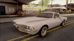 Buick Riviera 1972 Boattail Lowrider Gray for GTA San Andreas