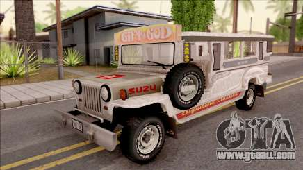 Jeepney Burrito v2 for GTA San Andreas