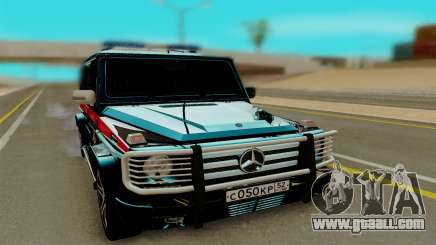 Mercedes Benz G55 AMG for GTA San Andreas