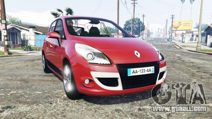 Renault Scenic (JZ) 2009 [replace] for GTA 5