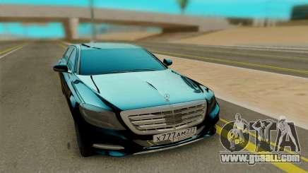 Maybach S400 for GTA San Andreas