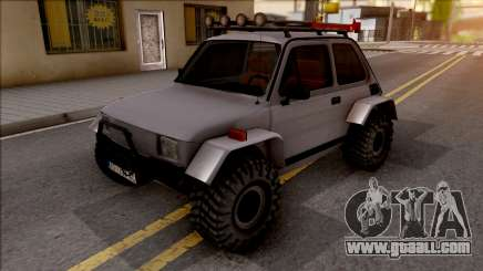 Fiat 126p Buggy for GTA San Andreas