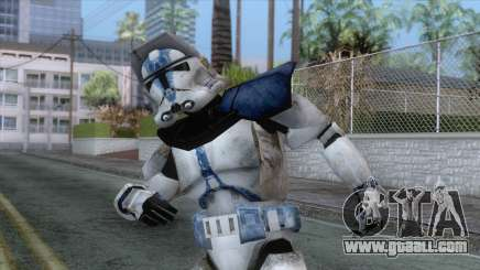 Star Wars JKA - 501st Legion Skin v3 for GTA San Andreas