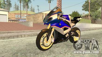 BMW S1000RR 2016 for GTA San Andreas