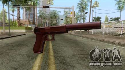 Glock 17 Silenced v1 for GTA San Andreas