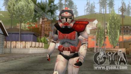 Star Wars JKA - Clone Shock Trooper Skin 2 for GTA San Andreas
