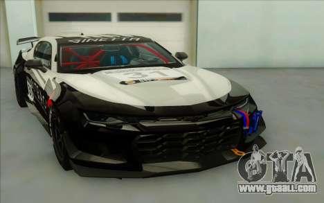 Chevrolet Camaro ZL 1 for GTA San Andreas