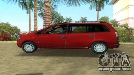Opel Zafira 2.2DTI for GTA Vice City