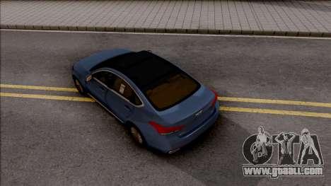 Hyundai Genesis 2016 for GTA San Andreas