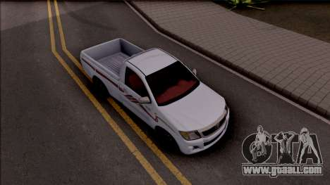 Toyota Hilux 2 Door GLX 2013 for GTA San Andreas