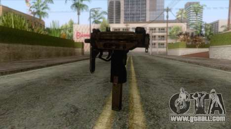 Pay day 2 - Micro Uzi for GTA San Andreas second screenshot