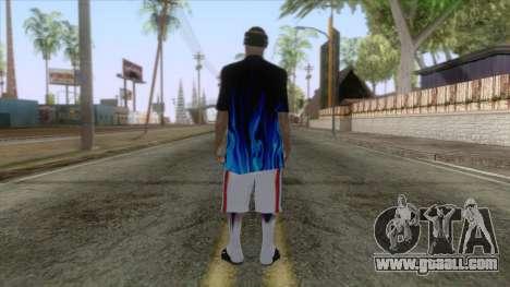New Ballas Skin 1 for GTA San Andreas