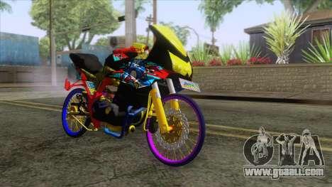 Kawasaki Ninja 250R Karbu Thailook for GTA San Andreas