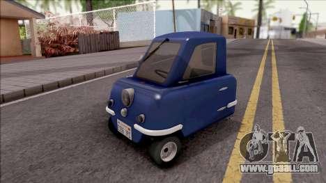 Peel P50 2011 Old 1.0 for GTA San Andreas