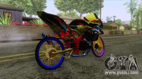 Kawasaki Ninja 250R Karbu Thailook for GTA San Andreas left view