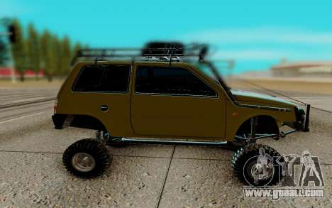 VAZ 1111 for GTA San Andreas left view