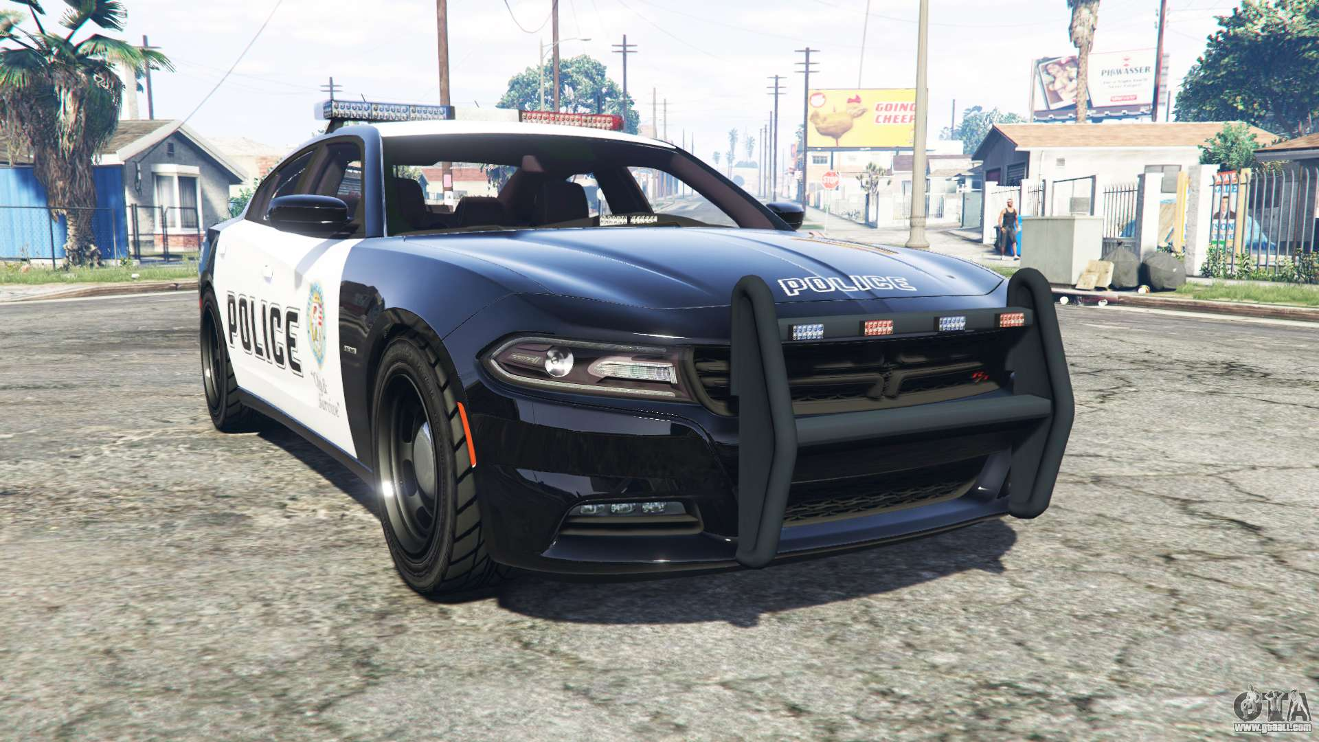 Dodge Charger Rt 2015 Police V2 0 Replace For Gta 5