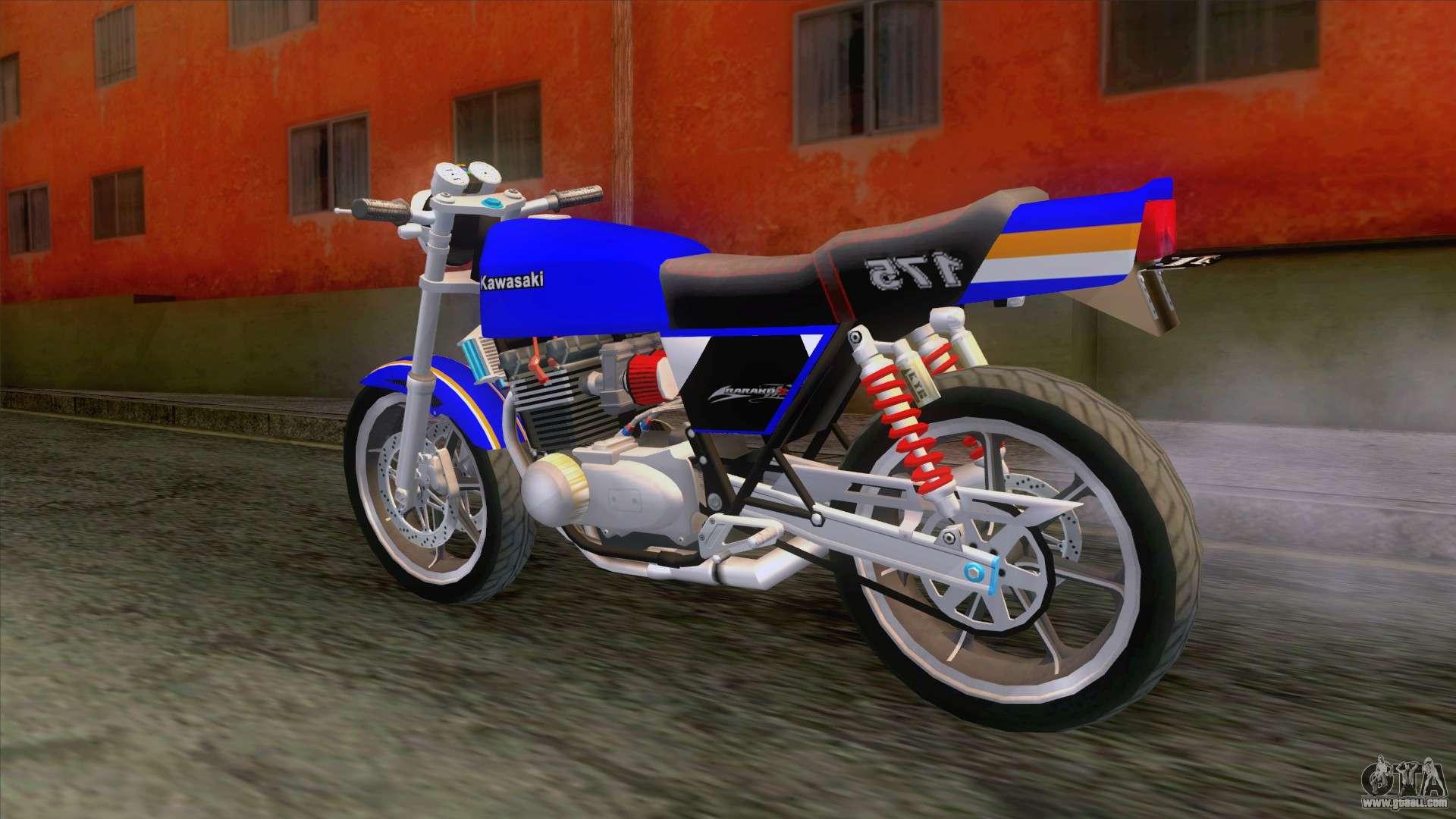Kawasaki Barako 175 For Gta San Andreas