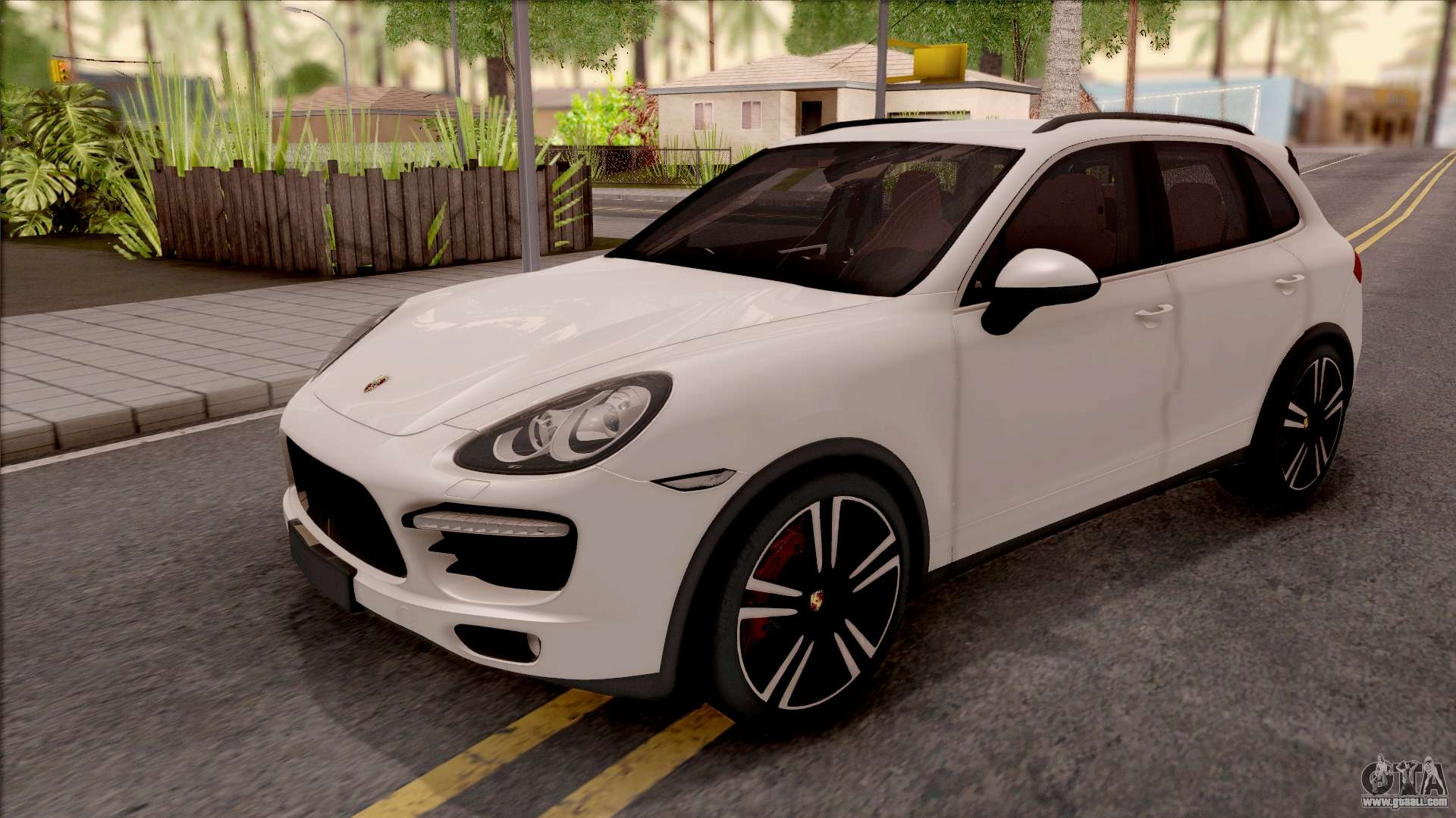 porsche cayenne turbo 2013 single version for gta san andreas. Black Bedroom Furniture Sets. Home Design Ideas
