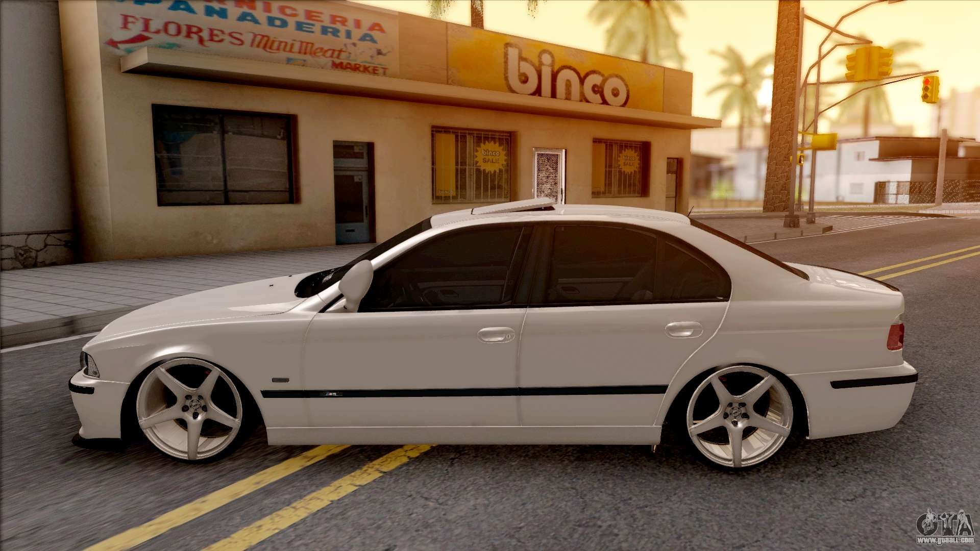 bmw 530d e39 for gta san andreas. Black Bedroom Furniture Sets. Home Design Ideas