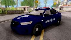 Ford Taurus 2013 Mexican Police for GTA San Andreas