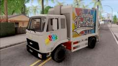 FAP MBKT Terengganu City Garbage Compactor Truck for GTA San Andreas