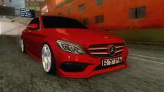 Mercedes-Benz C250 Stance for GTA San Andreas