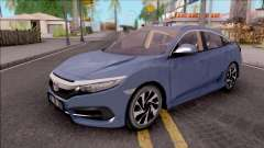 Honda Civic FC5 Low Poly with Led Lights