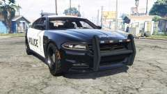 Dodge Charger RT 2015 Police v2.0 [replace] for GTA 5