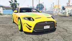 Jaguar XKR-S GT (X150) 2013 v1.1 [replace] for GTA 5