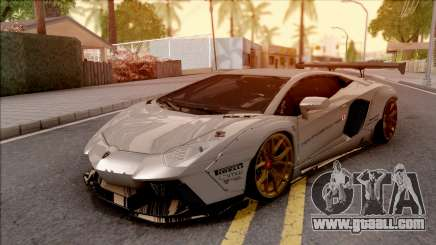 Lamborghini Aventador Liberty Walk 2012 for GTA San Andreas