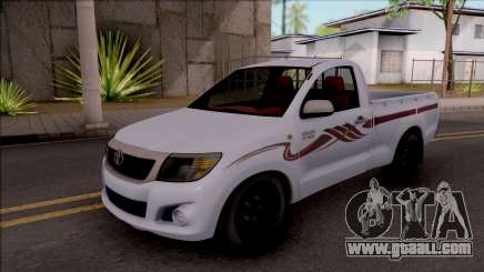 Toyota Hilux 2 Door GLX 2013 for GTA San Andreas