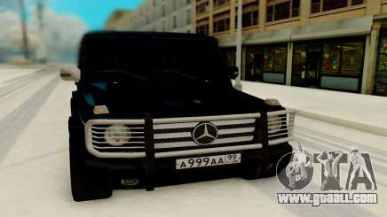 Mercedes-Benz G 55 AMG for GTA San Andreas