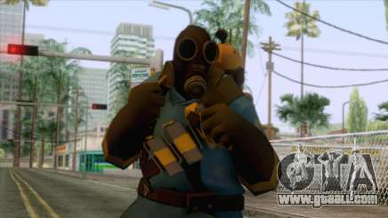 Team Fortress 2 - Pyro Skin v1 for GTA San Andreas