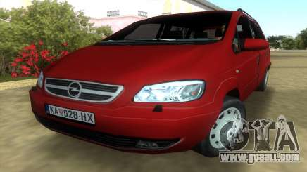 Opel Zafira 2.2DTI for GTA Vice City