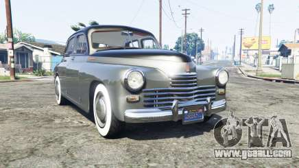 GAZ M 20 Pobeda [replace] for GTA 5