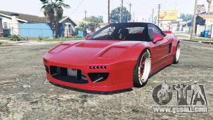 Honda NSX (NA1) Rocket Bunny [replace] for GTA 5