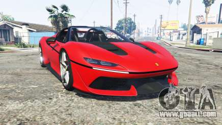 Ferrari J50 2017 [add-on] for GTA 5