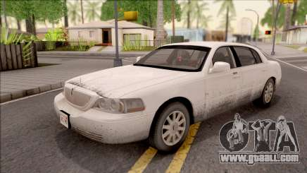 Lincoln Town Car L Signature 2010 IVF for GTA San Andreas