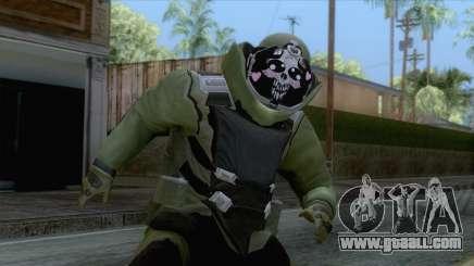 Pay day 2 - Sempai Dozer Green for GTA San Andreas
