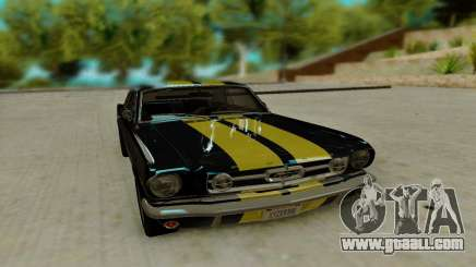 Ford Mustang GT MkI 1965 for GTA San Andreas
